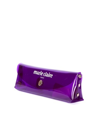 Marie Claire Makyaj Çantası Mor